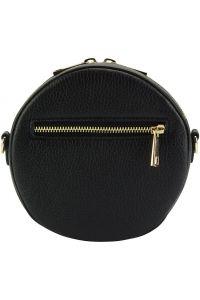 Δερματινο Τσαντακι Lucrezia Firenze Leather 9125 Μαύρο