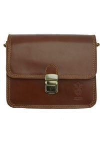 Δερματινο Τσαντακι Diana Firenze Leather 220 Καφε