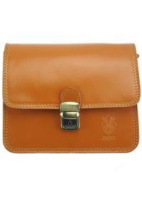 Δερματινο Τσαντακι Diana Firenze Leather 220 Μπεζ