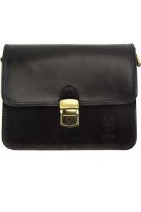 Δερματινο Τσαντακι Diana Firenze Leather 220 Μαύρο