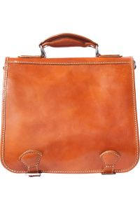 Δερμάτινος Χαρτοφύλακας Mini 2 Θέσεων Firenze Leather 7608 Μπεζ