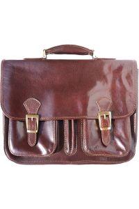 Δερμάτινος Χαρτοφύλακας 2 Θέσεων Firenze Leather 7611 Σκουρο Καφε