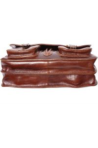 Δερμάτινος Χαρτοφύλακας 2 Θέσεων Firenze Leather 7611 Καφε