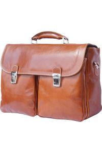 Δερματινος Χαρτοφυλακας Andrea Firenze Leather 7626 Μπεζ