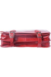 Δερμάτινος Χαρτοφύλακας 2 Θέσεων Firenze Leather 7610 Κόκκινο