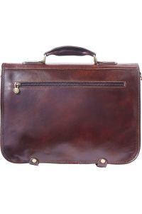 Δερμάτινος Χαρτοφύλακας 2 Θέσεων Firenze Leather 7610 Σκουρο Καφε