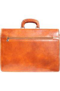 Δερμάτινος Χαρτοφύλακας 3 Θέσεων Firenze Leather 7603 Μπεζ