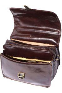 Δερμάτινος Χαρτοφύλακας Για Laptop Firenze Leather 7615 Σκουρο Καφε