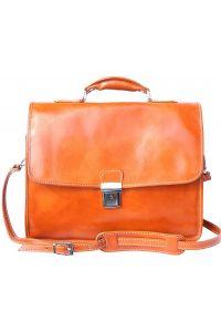 Δερμάτινος Χαρτοφύλακας Για Laptop Firenze Leather 7615 Μπεζ