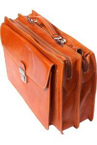 Δερματινος Χαρτοφυλακας Firenze Leather 7621 Camel