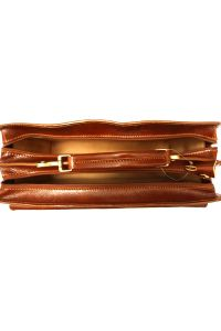 Δερματινος Χαρτοφυλακας Firenze Leather 7621 Καφε