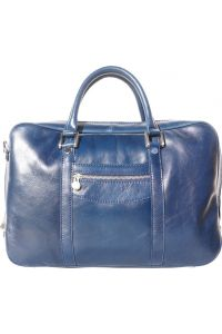 Δερματινος Χαρτοφυλακας Gianpaolo Firenze Leather 7627 Σκουρο Μπλε