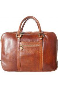 Δερματινος Χαρτοφυλακας Gianpaolo Firenze Leather 7627 Καφε
