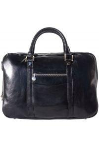 Δερματινος Χαρτοφυλακας Gianpaolo Firenze Leather 7627 Μαύρο