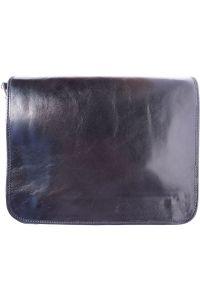 Δερμάτινη Τσάντα Ταχυδρόμου Firenze Leather 6548 Μαύρο