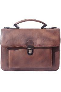 Δερματινος Χαρτοφυλακας 2 Θέσεων Mini Firenze Leather 68038 Σκουρο Καφε