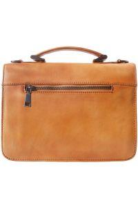 Δερματινος Χαρτοφυλακας 2 Θέσεων Mini Firenze Leather 68038 Camel