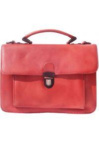 Δερματινος Χαρτοφυλακας 2 Θέσεων Mini Firenze Leather 68038 Κόκκινο
