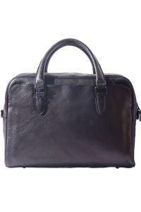Δερματινος Χαρτοφυλακας Unisex Firenze Leather 68036 Μαύρο