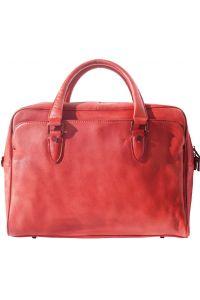 Δερματινος Χαρτοφυλακας Unisex Firenze Leather 68036 Κόκκινο