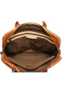 Γυναικειος Δερματινος Χαρτοφυλακας Firenze Leather 68037 Καφε