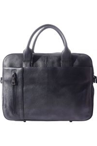 Γυναικειος Δερματινος Χαρτοφυλακας Firenze Leather 68037 Μαύρο