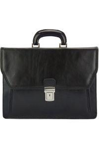Δερματινος Χαρτοφυλακας Corrado Firenze Leather 7631 Μαύρο