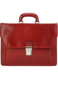 Δερματινος Χαρτοφυλακας Corrado Firenze Leather 7631 Κόκκινο