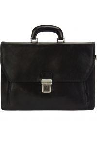 Δερματινος Χαρτοφυλακας Mini Sergio Firenze Leather 7606 Μαύρο