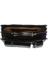 Χαρτοφυλακας Δερματινος Daniele Firenze Leather 7632 Μαύρο