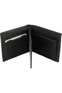 Ανδρικο Δερματινο Πορτοφολι Primo Firenze Leather PF149 Μαύρο