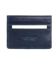 Θηκη Καρτών Δερμάτινη Firenze Leather PC076 Σκουρο Μπλε
