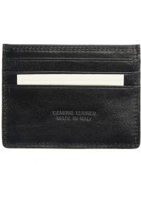 Θηκη Καρτών Δερμάτινη Firenze Leather PC076 Μαύρο