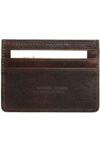 Θηκη Καρτών Δερμάτινη Firenze Leather PC076 Σκουρο Καφε