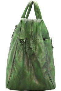 Δερματινος Σακος Ταξιδίου Raimondo Firenze Leather 68052 Σκουρο Πρασινο