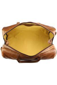 Δερμάτινο Σακ Βουαγιαζ Gosto Firenze Leather 7501 Μπεζ