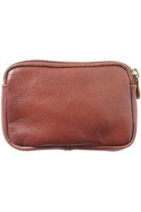 Δερματινο Πορτοφολι Κερματων Firenze Leather PM335 Καφε