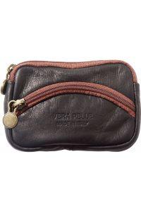 Δερματινο Πορτοφολι Κερματων Firenze Leather PM335 Μαύρο