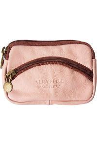 Δερματινο Πορτοφολι Κερματων Firenze Leather PM335 Ροζ