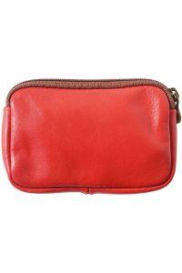 Δερματινο Πορτοφολι Κερματων Firenze Leather PM335 Κόκκινο
