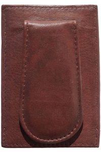 Δερματινη Θηκη για Καρτες Firenze Leather PC02 Σκουρο Καφε