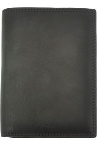 Δερμάτινο Πορτοφόλι Alfio Firenze Leather 53447 Μαύρο