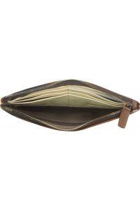 Δερμάτινο Πορτοφόλι Adele Firenze Leather 51831 Σκουρο Καφε