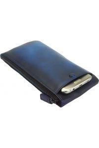 Δερμάτινο Πορτοφόλι Adele Firenze Leather 51831 Σκουρο Μπλε