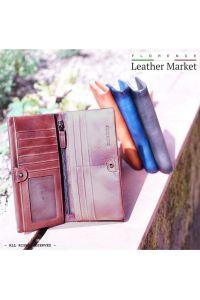 Γυναικειο Δερματινο Πορτοφολι Bernardo Firenze Leather 53801 Σκουρο Καφε