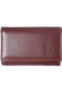 Δερμάτινο Πορτοφόλι Rina GM Firenze Leather PF074 Καφε