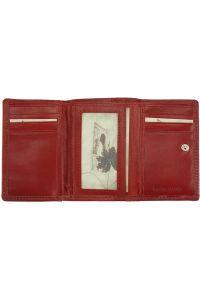 Δερμάτινο Πορτοφόλι Rina V Firenze Leather V908 Κόκκινο