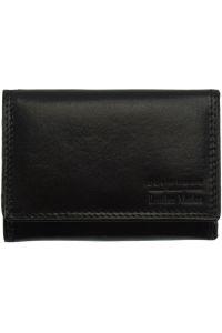 Δερμάτινο Πορτοφόλι Rina V Firenze Leather V908 Μαύρο