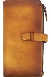 Δερμάτινο Πορτοφόλι Agostino Firenze Leather 51484 Μπεζ