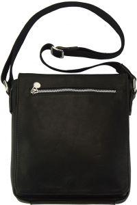 Δερματινη Τσαντα Ωμου Camillo Firenze Leather B033 Μαύρο